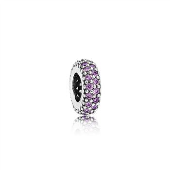 Pandora Inspiration Within Spacer, Purple CZ 791359CFP