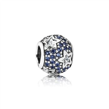 Pandora Follow The Stars, Clear CZ & Midnight Blue Crystal 791382CZ