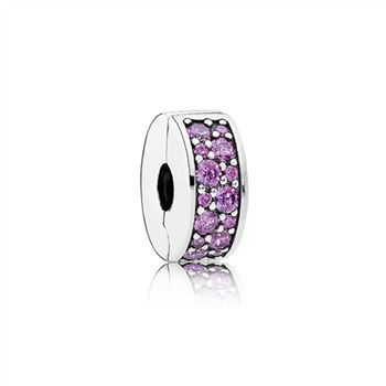 Pandora Shining Elegance Clip, Fancy Purple CZ 791817CFP