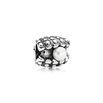Pandora One Of A Kind, White Pearl 791134P