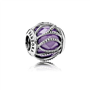 Pandora Intertwining Radiance, Purple & Clear CZ 791968ACZ