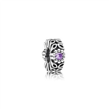 Pandora Purple Forest Flower Spacer 791224CFP