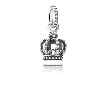 Pandora Noble Splendor Crown Dangle Charm 791376
